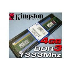 Memoria 4 GB DDR3